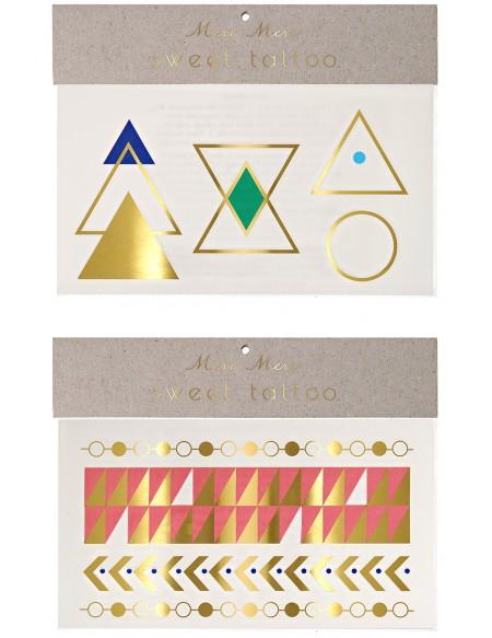 Geometric shape tattoos