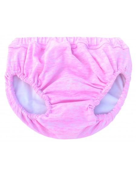 Pink anti leak swimming