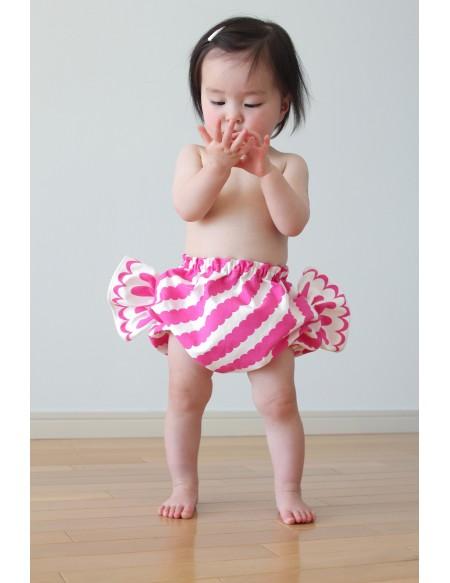Bloomer bébé bonbon rayé Apple Peel