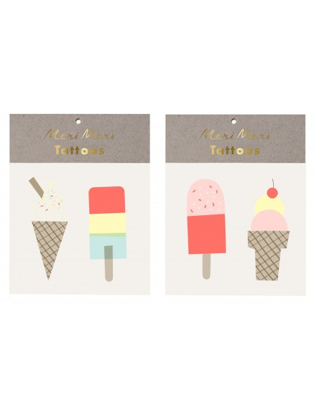 Ice creams Tattoos