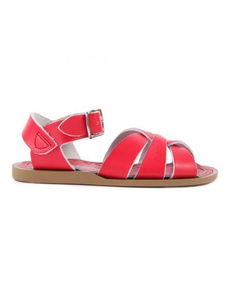 Sandales en cuir Salt Water uni