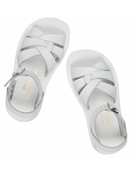 Sandales en cuir uni Swimmer