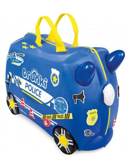 Valise à roulette porteur Police