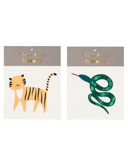 Tatouages éphémères Animal