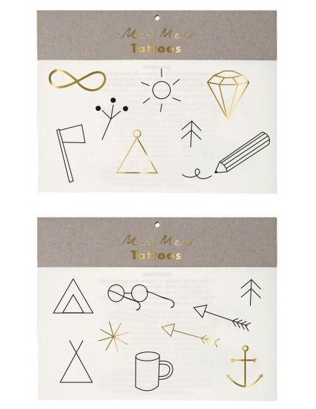 Camping symbols Tattoos