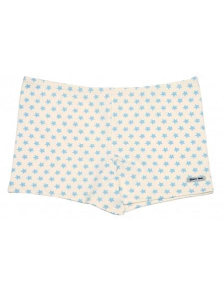 Star printed stretch swim short