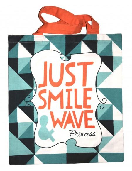 Beach Schultertaschen Smile