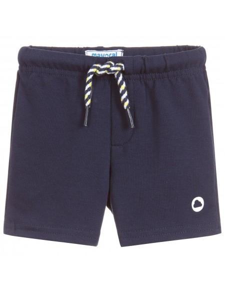 Boys blue cotton short