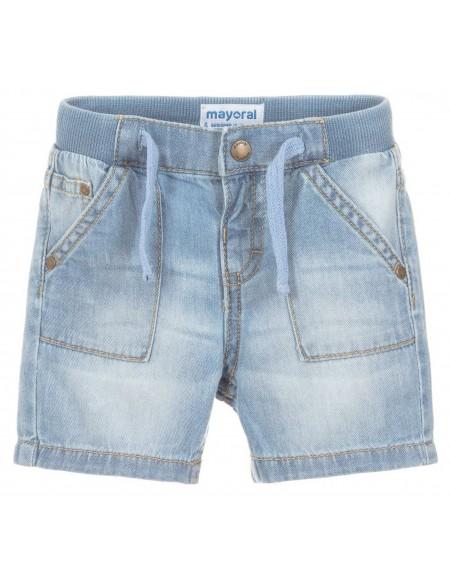 Short en jean bébé garçon stoné