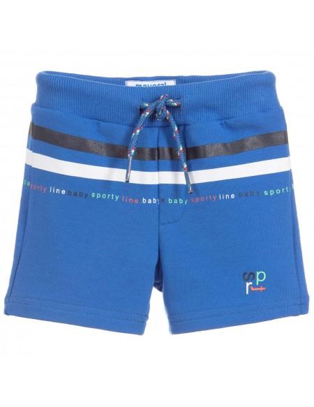 Boys blue jersey short