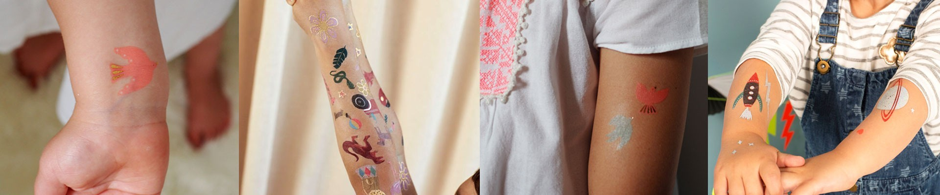 Temporary Tattoos and jewelry from Princesse Ilou
